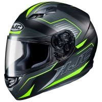 HJC KASK CS-15 TRION BLACK/GREEN