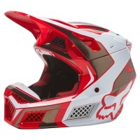 FOX KASK OFF-ROAD V3 RS MIRER FLUORESCENT RED