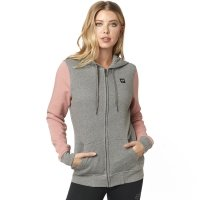 FOX BLUZA LADY Z KAP. EVERGLADE HEATHER GRAPHITE