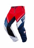 KENNY SPODNIE OFF-ROAD TRACK BLUE WHITE RED