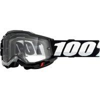100 PROCENT GOGLE FA20 ACCURI 2 ENDURO MOTO  BLACK