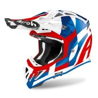 AIROH KASK OFF-ROAD AVIATOR ACE TRICK BLUE GLOSS
