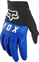 FOX RĘKAWICE OFF-ROAD JUNIOR DIRTPAW BLUE