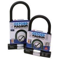 OXFORD Zabezpieczenie antykra MAGNUM U-lock cz/sr