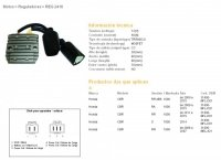 DZE REGULATOR NAPIĘCIA HONDA CBR1000 RR 06-15