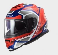 KASK LS2 FF800 STORM  FASTER RED BLUE
