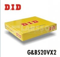 Komplet napędowy DID+JT 520 VX2 złoto-czarny do Honda CR 96-04 CRF 02-03 - 2056384 -