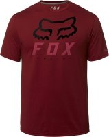 FOX  T-SHIRT HERITAGE FORGER TECH RED