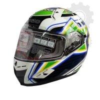 Kask Ispido RACE SV BRAZIL biały/zielony/czarny/żółty