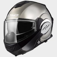 KASK LS2 FF399 VALIANT SOLID CHROME
