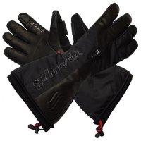 GLOVII GS9 ogrzewane rękawice narciarskie z bate.