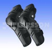 Komplet ochraniaczy kolan/łokci Polisport czarny dla juniorów