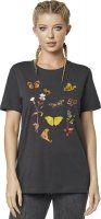 FOX T-SHIRT LADY MONARCH BLACK VINTAGE
