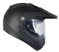 KASK OZONE CROSS MXT-01 PINLOCK READY BLACK MATT