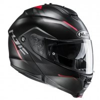 HJC KASK SYSTEMOWY IS-MAX II DOVA BLACK/RED