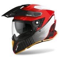 AIROH KASK COMMANDER PROGRESS LIMITED RED GLOSS ED