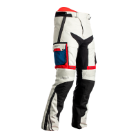 RST SPODNIE TEKSTYLNE  ADVENTURE-X CE ICE/B/RED/BL