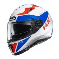 HJC KASK INTEGRALNY I70 TAS WHITE/BLUE/RED