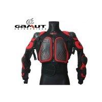 GAMUT Zbroja motocrossowa czarny, czarno-czerwony