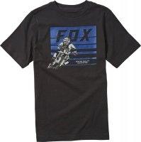 FOX T-SHIRT JUNIOR ADVANTAGE BLACK