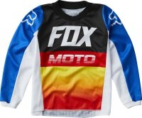 FOX BLUZA OFF-ROAD JUNIOR 180 FYCE BLUE/RED