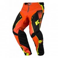 KENNY SPODNIE OFF-ROAD TRACK BLACK/ORANGE