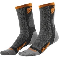 THOR SKARPETY DUAL SPORT S6 CASUAL GRAY/ORANGE =$