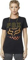 FOX T-SHIRT LADY RICHTER BLACK
