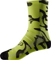 SKARPETY FOX 8 PRINT YELLOW/BLACK