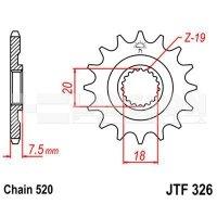 Zębatka przednia JT F326-13, 13Z, rozmiar 520 2200807 Honda CR 125