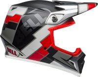 BELL KASK OFF-ROAD MX-9 MIPS TWITCH BLACK/RED