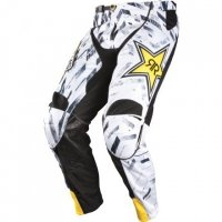 ANSWER SPODNIE OFF-ROAD ROCKSTAR WHITE