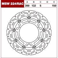 TRW Tarcza hamulcowa MSW224RAC YAMAHAXT 660 Z Ten