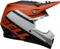 BELL KASK OFF-ROAD MOTO-9 PROPHECY MATT WH/RED/BLA