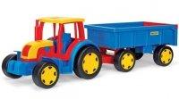 Gigant Traktor z przyczepą 66100