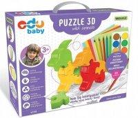 Puzzle 3D Wild Animals