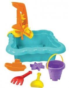 Piaskownica z zabawkami do piasku wody WADER 72010