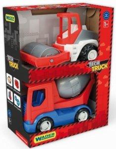 Tech Truck  betoniarka i walec Wader 35377
