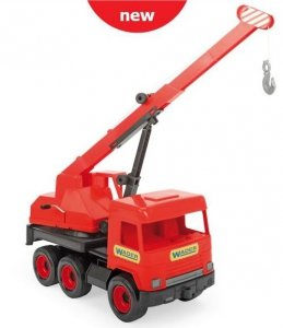 Middle Truck dźwig w red kartonie