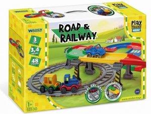 Play Tracks Railway droga i kolejka Wader 51530