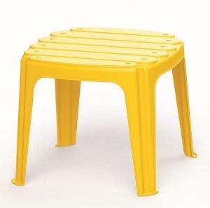 Stolik plastikowy żółty Dolu DL3207
