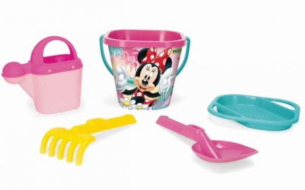 Komplet do piasku Minnie Mouse Wader 77441 -5 el.