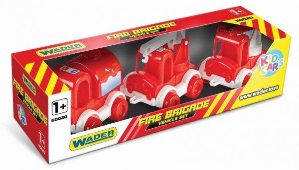 Kid Cars zestaw straż pożarna