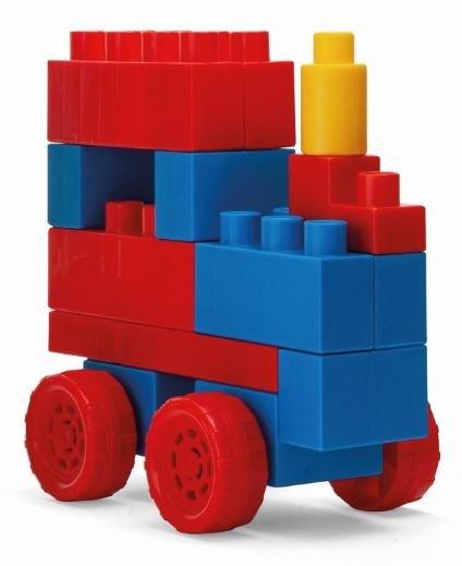 Kids Blocks klocki w pojemniku 70 el. Wader 41295