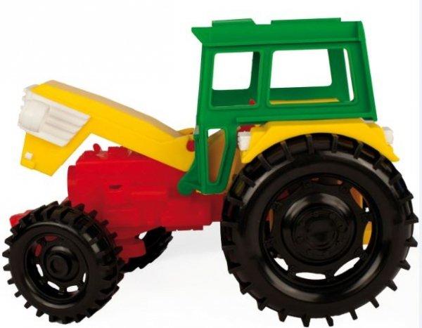 Traktor z przyczepą wywrotką  Wader 35002
