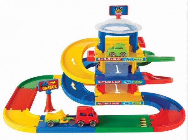 Play Tracks Garage 3-poziomowy Wader 53030