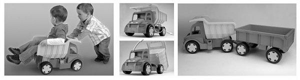 Gigant Truck wywrotka Wader 65005