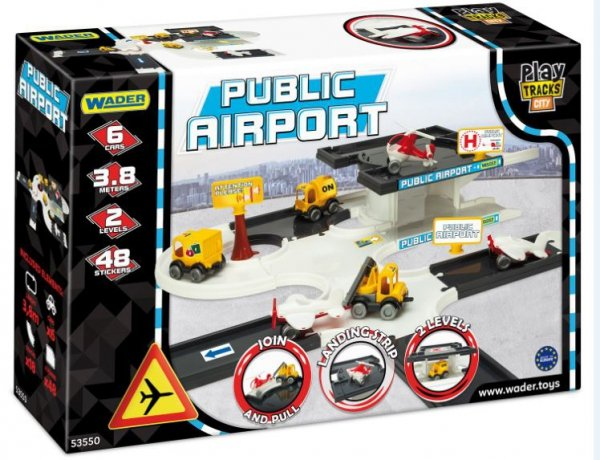 Play Tracks City lotnisko Wader 53550
