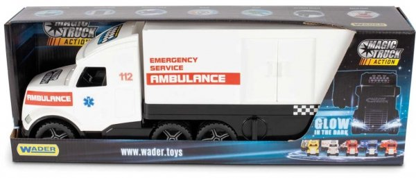WADER Magic Truck Action ambulans