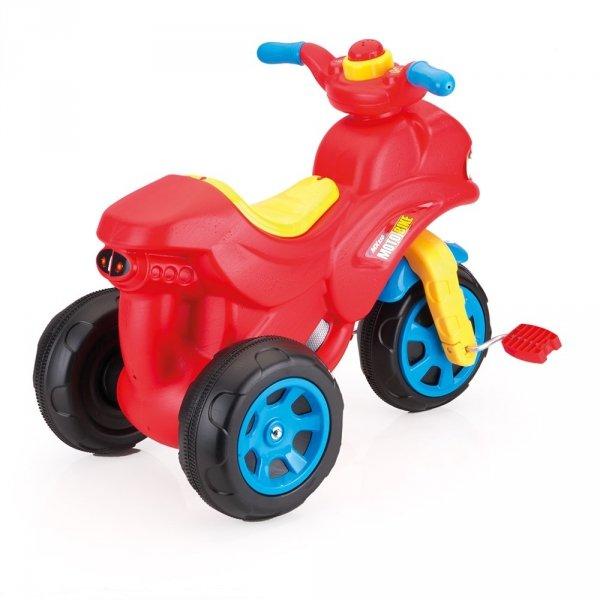 Motocykl z dźwiękiem w kartonie DOLU